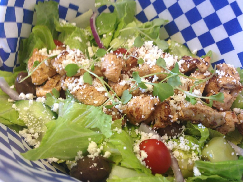 Xristo's Greek Salad