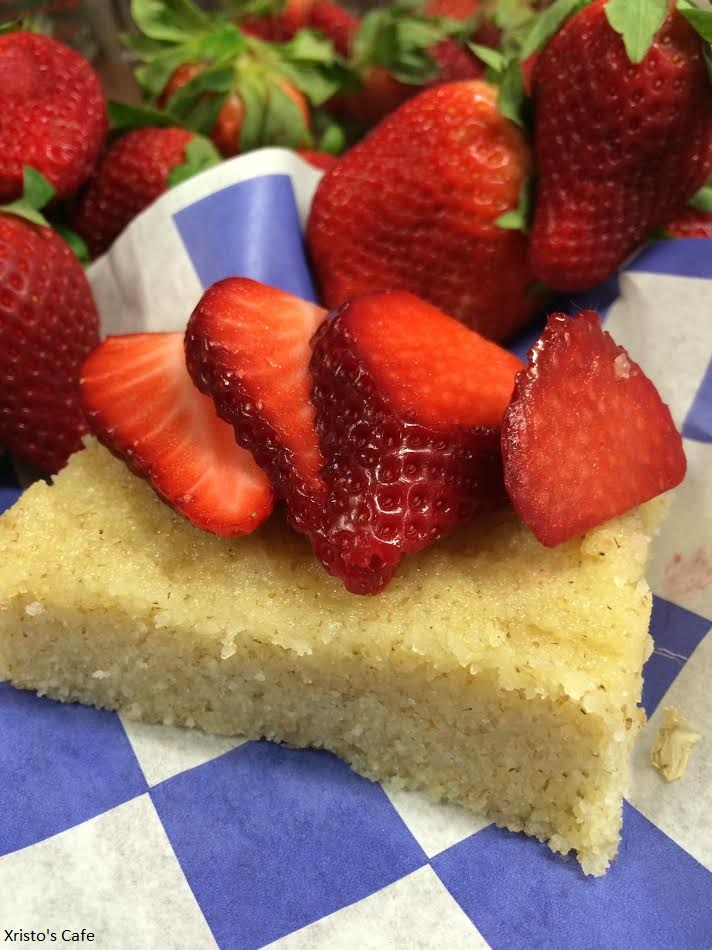 Xristo's Greek Yogurt Cake
