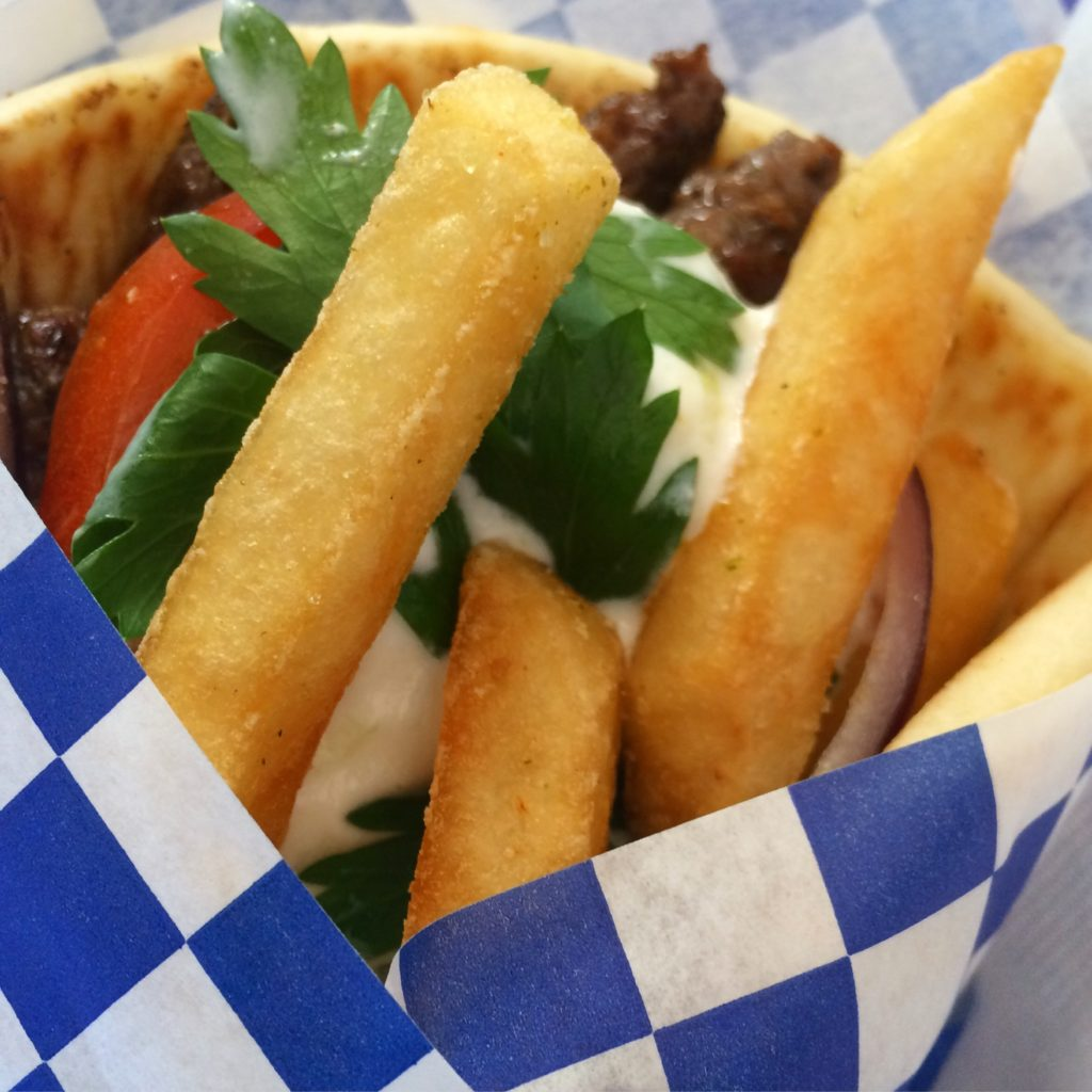 Xristo's Gyro with Fries